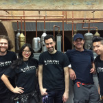 Todd Rex, Michelle Nyree, Tom Spina, Brian Lewis and Casey Wong