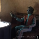 Greedo cosplay, Rodian costume for rental