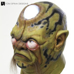 Alien Frog-like mask for commercial rental
