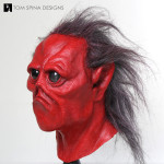 red alien mask for commercial rental