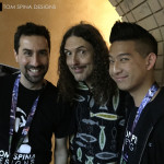 Tom Spina and Casey Wong with Weird Al