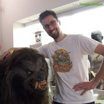 Tom Spina with Werewolf London Movie Costume