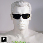 T2 Terminator 2 Judgment Day Sunglasses Arnold Shwarzenegger bust