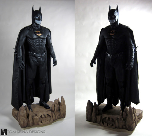 Themed Custom mannequin for Batman Costume