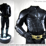 custom mannequin for Batman costume from UD Replicas