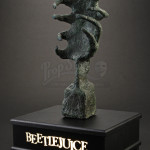 conservation of Tim Burton Beetlejuice sculptures Delia Deetz Venus fly trap claw statue prop