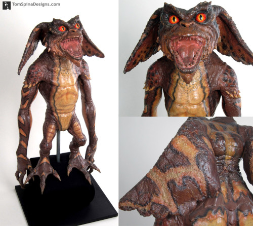 Original Brown Gremlins 2 Puppet conservation