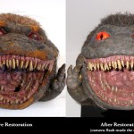 Critters movie prop puppet foam latex restoration