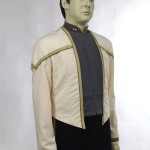 Star Trek Nemesis, the Next Generation, Dress Uniform Costume Display