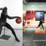 dynamic posed Custom Sports Mannequin for retail display