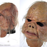 Star Wars Ugnaught mask movie prop restoration