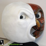 Ghostbusters original movie prop mask Stay Puft Marshmallow Man display