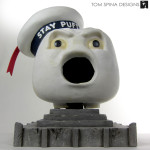 Stay Puft Marshmallow Man costume head
