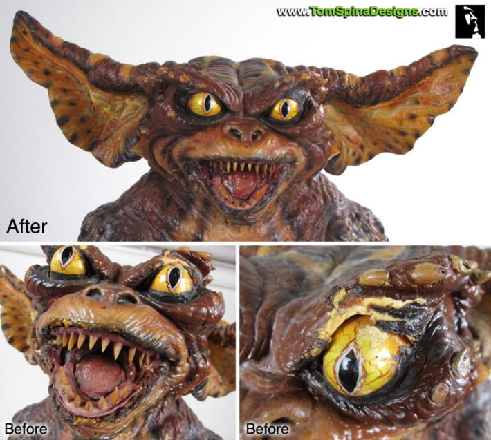 Gremlins Movie Prop Puppet Conservation