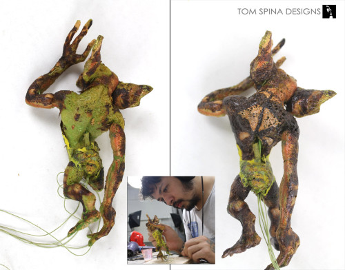 movie prop Rick Baker gremlins melting puppet