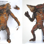 Gremlins Stop Motion Movie Prop Puppet Preservation