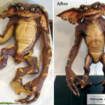 Movie Prop Foam Latex Gremlins Stunt Puppet Restoration