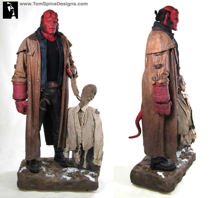 Hellboy costume original movie Ron Perlman and screen used stunt mask