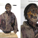 An American Werewolf in London Jack Puppet Movie Prop Restoration
