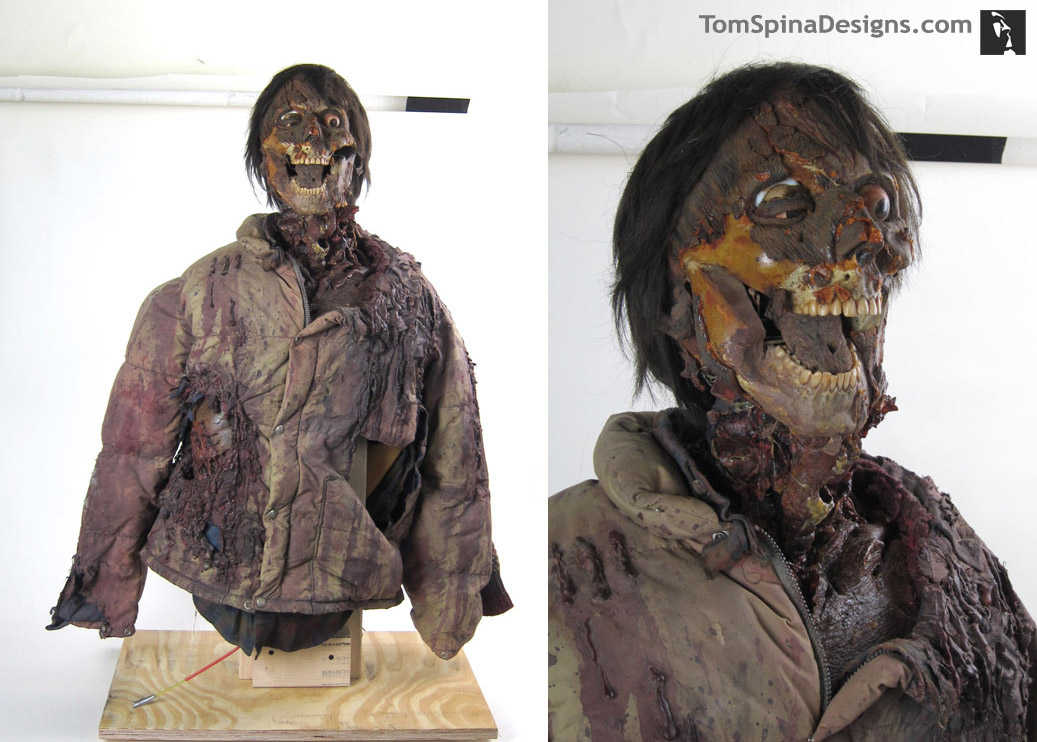 American Werewolf in London Jack Puppet Movie Prop Restoration