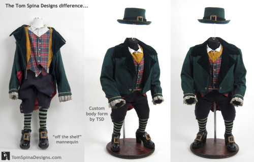 Custom mannequin Warwick Davis Leprechaun Movie Costume