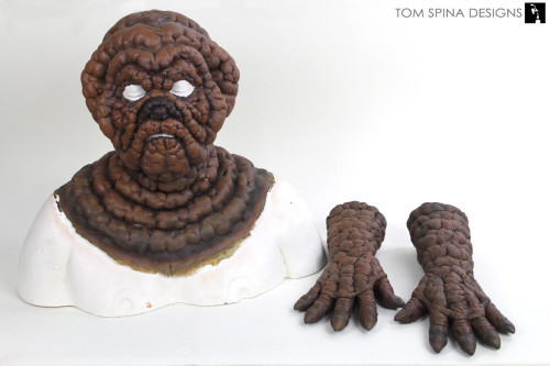 MIB Dog Poop Alien costume display