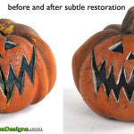 Nightmare Before Christmas Pumpkin Prop Restoration