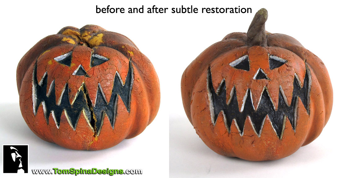 Nightmare Before Christmas Pumpkin Prop Restoration » Tom Spina ...