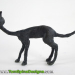 Tim Burton Nightmare Before Christmas Cat Puppet Restoration