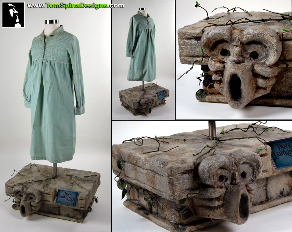Pan's Labyrinth Ofelia Costume custom mannequin