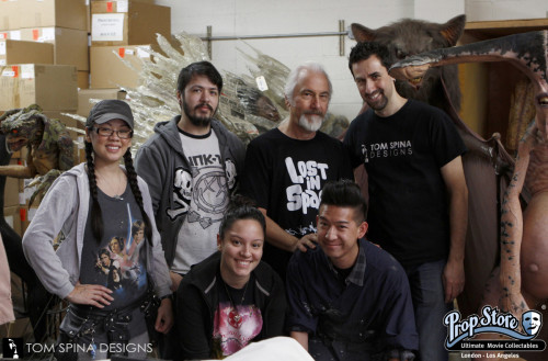 Rick Baker auction restoration crew shot