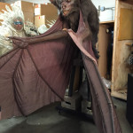 Foam latex movie prop puppet preservation