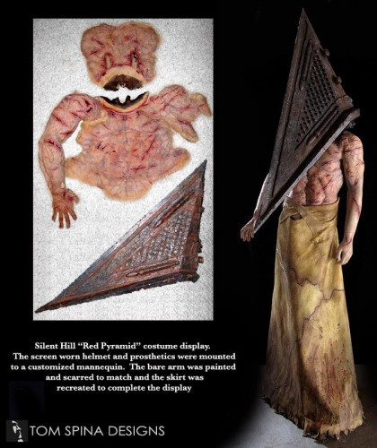 Custom mannequin display Silent Hill Pyramid Head Costume
