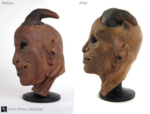 Restoring the original Star Wars Devil cantina alien mask