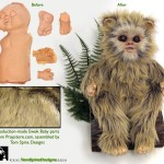 baby ewok movie prop Star Wars Return of the Jedi