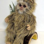 Return of the Jedi Ewok masks and baby ewok movie prop