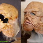 Star Wars Ugnaught Movie Prop Mask Restoration from The Empire Strikes Back