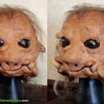 Star Wars Ugnaught Mask Movie Prop Restorations