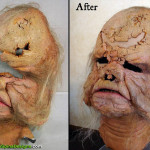Star Wars Orignal Prop Ugnaught Mask Preservation and Display