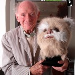 Stuart Freeborn with ewok movie prop