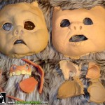 ewok movie prop masks Star Wars Return of the Jedi