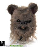 Return of the Jedi Ewok Mask Prop Restoration