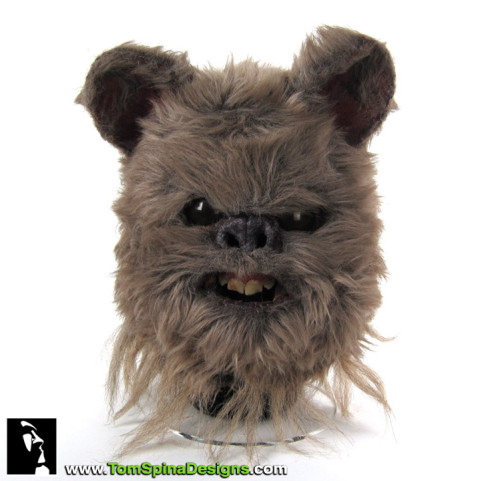 Return of the Jedi Ewok mask prop