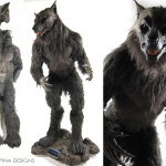 custom mannequin for Underworld Lycan costume