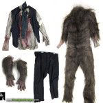 Original Movie Wardrobe Costume Wolfman 2010