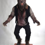 Wolfman 2010 movie prop costume custom statue werewolf
