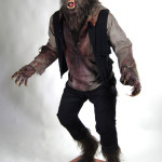 Wolfman movie props costume custom statue werewolf