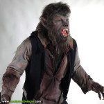 Wolfman 2010 movie props costume custom statue werewolf