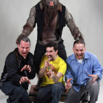 Wolfman 2010 movie props costume custom statue werewolf Tom Spina Rich Krusell