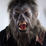 2010's The Wolfman movie costume custom statue werewolf